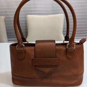 Brooks Brothers tan/ brown leather purse